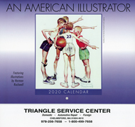 auto repair shop Triangle Service Center 2016 calendar