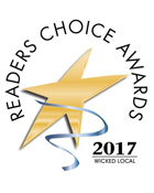 Triangle Service Center winner of Wicked Local Reader's Choice Award 2017