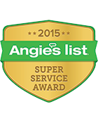 Triangle Service Center winner of Angie's List Super Server Award 2015